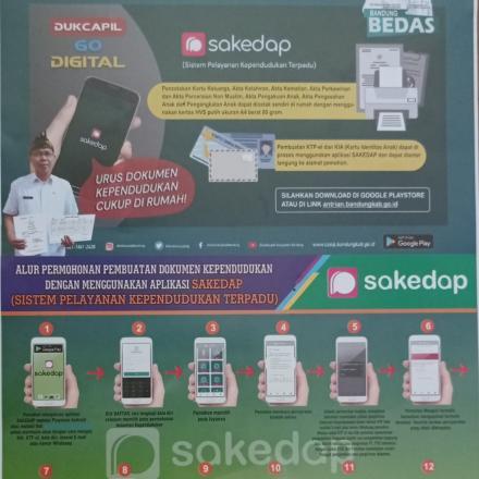 SAKEDAP (Sistem Pelayanan Kependudukan Terpadu)