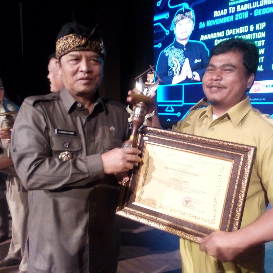 Desa Pulosari Juara 3 Lomba Website Tingkat Kabupaten Bandung