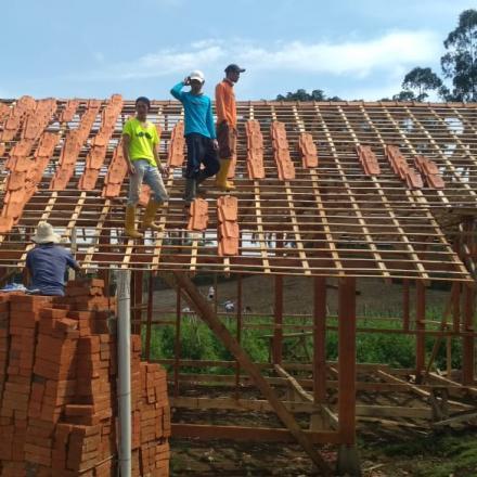 Album : Monitoring Pembangunan Kampung Saber