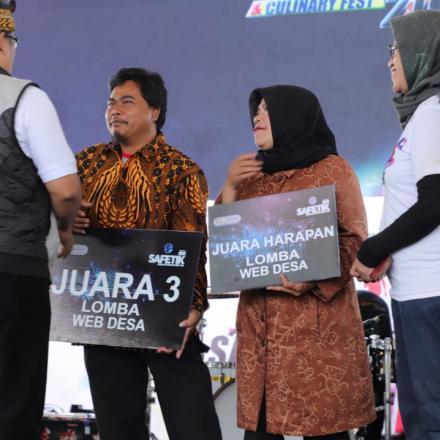 Album : Website Desa Pulosari Juara 3 Tingkat Kabupaten Ba