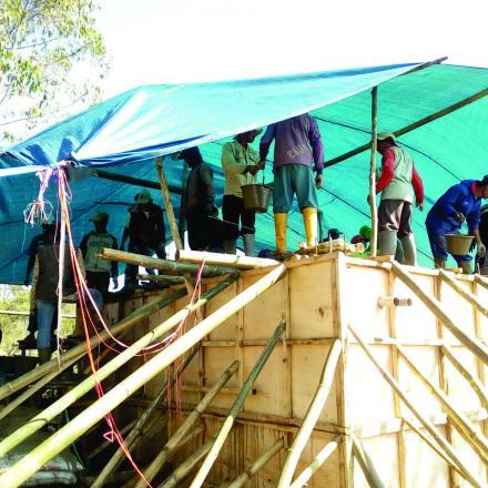 Album : Pembangunan Desa Pulosari Tahun Anggaran 2018