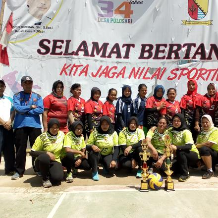 Album : Turnamen Volley Ball Tingkat Desa